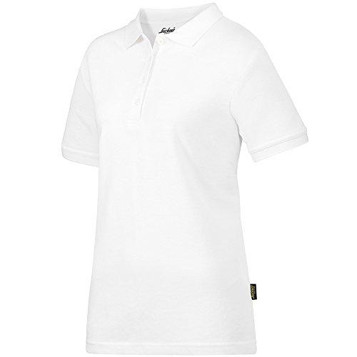 Snickers Workwear Damen Poloshirt, Größe S, weiß, 2702
