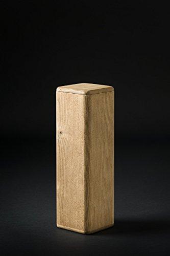 Warm and Wood, porta bottiglie vino, legno, termotrattato, Flavour Case Red