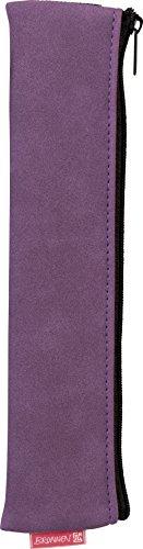Fontaine 104903560 1 Trousse Colour Code avec élastique, 21 x 5 x 1 cm, en suédine et violet/purple