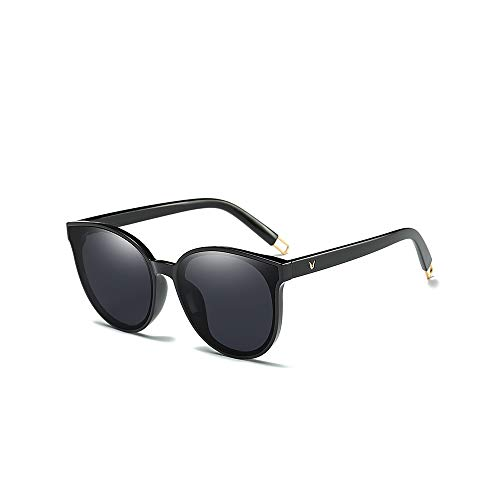 MINGW- Colour Luxury Flat Top Cat Eye Women Sunglasses Elegant Men Twin Beam Oversized Sun Glasses Uv400