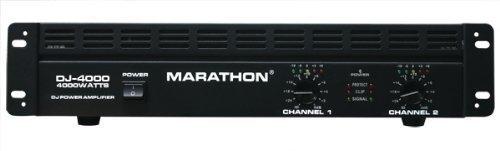 Marathon Professional DJ Series DJ-4000 4000W Stereo Power Amplifier