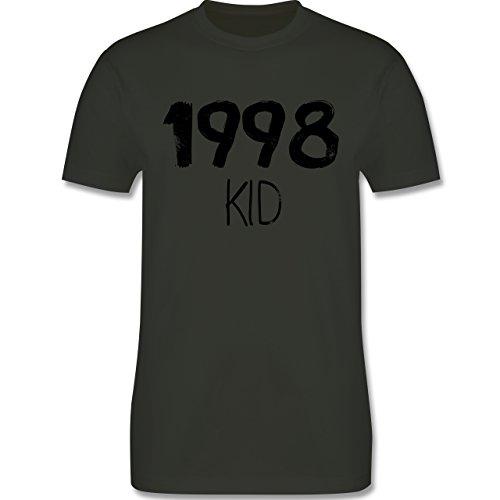 Geburtstag - 1998 KID - Herren Premium T-Shirt Army Grün