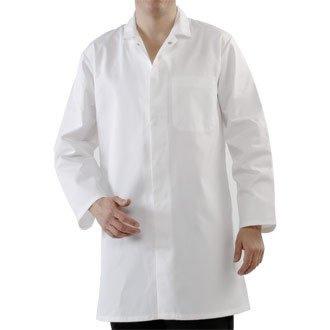 Whites Chefs Apparel a360-m Herren Hygiene Coat, weiß -