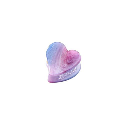 CANDLLY Haarspange Damen, Kopfbedeckung Zubehör Trend Süße Träume Romantisch Lila Stern Multicolor Haarnadel Mädchen Schmuck Haarspange Kopfbedeckung (Mehrfarbig-6,One size)