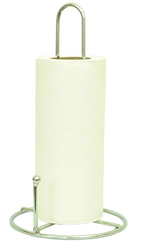 Erbanize (™) Kitchen Napkin Roll Holder. Kitchen Paper Towel Tissue Holder, Chrome
