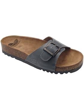 Dr. Scholl's Akumal Sandalo In Pelle Colore Testa Di Moro Misura 45