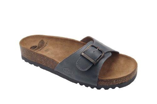 Scholl Akumal Dark Brown Calf Leather Dunkelbraun