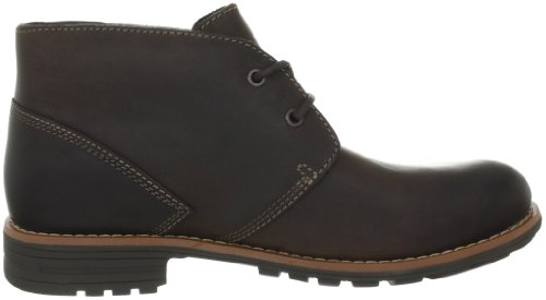 Clarks Midford Edge 203512907, Stivaletti uomo Marrone (Brown WLined Lea)