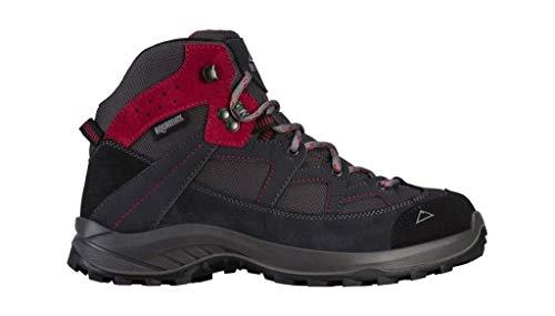 McKINLEY Damen Trekkingschuh Discover Mid AQX W Trekking- & Wanderhalbschuhe Grau (Anthracite/Pink Dark 902) 39 EU