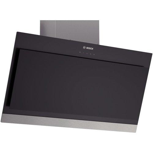 Bosch DWK09G660 Serie 6 Wandhaube / 90 cm / Wahlweise Abluft- oder Umluftbetrieb / schwarz