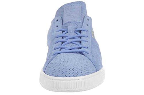 Puma Suede Classic Deconstruct Herren Sneaker Schuhe Leder babyblau 356192 08 little boy blue-white