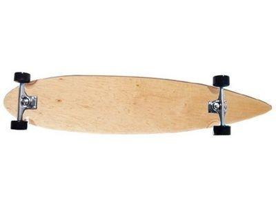 Moose Longboard Komplettboard Skateboard Pin Tail Longboard Complete 43x9