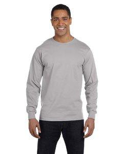 Hanes Herren Beefy Langarm T-Shirt (Hanes Langarm-t-shirts Für Männer)