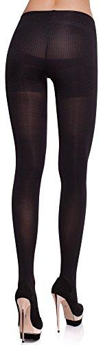Merry Style Damen figurformende Strumpfhose MS 171 100 DEN (Schwarz, M (36-40)) -