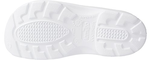 Lemigo leichte EVA Clogs Gartenclogs Gartenschuhe Bio Comfort Weiß