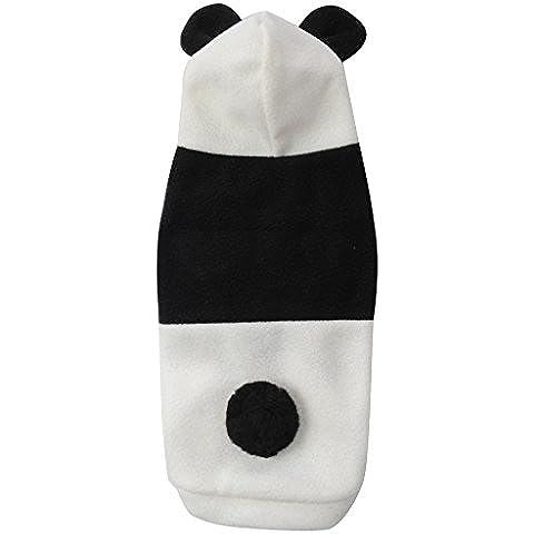 Perro mascota Panda Estilo Casual Shirt Top Vest - XS