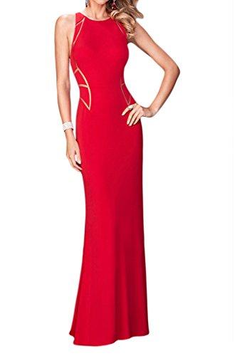 Missdressy -  Vestito  - linea ad a - Donna Rot