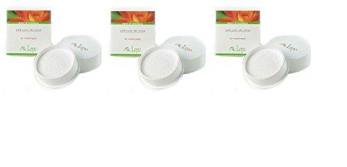 lepo-3-confezioni-di-polvere-di-riso-20-grammi-bianca-opacizza-e-uniforma-il-colorito