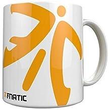Fnatic Ceramic Mug, Logo Design