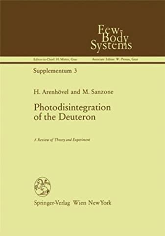 Photodisintegration of the Deuteron (Few-Body Systems)
