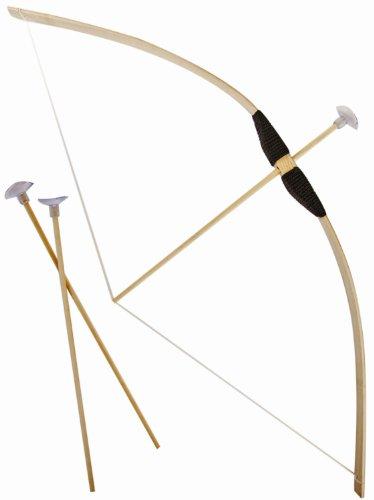Bogen Holz-Bogen Flitze-Bogen Bogen-Set Pfeile Kinder-Spielzeug 70 cm ()