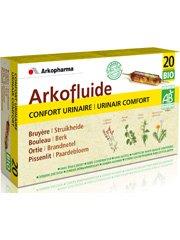 Arkopharma Agriculture Bio Confort Urinaire Extrait Fluides Plantes Bruyère/Busserole/Bouleau/Ortie 20 Ampoules 15 ml