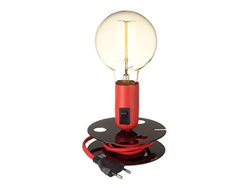 Neoly ILA3951152 Lampe à Poser, Métal, Multicolore, 13 X 13