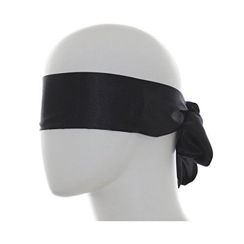 Lieberpaar Masque Bandage Band Sex SM De Nylon Bondage Party Eyepatch Noir Halloween Cosplay Prop