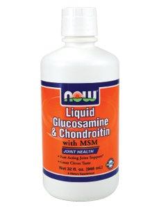 Now Foods, Liquid Glucosamine & Chondroitin, mit MSM, Zitrus, 32 fl oz (946 ml)