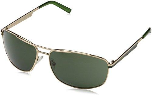 Guess Guf117, Gafas de Sol para Hombre, Verde (Gold), 64
