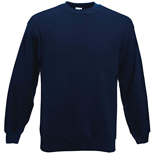 Fruit of the Loom Herren 62-202-0 Sweatshirt, Navy, XXXL