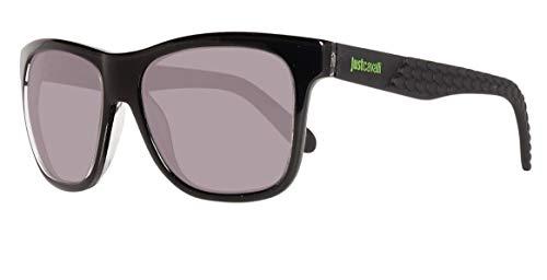 Just Cavalli Unisex-Erwachsene Sunglasses Jc648S 01N 54 Sonnenbrille, Schwarz