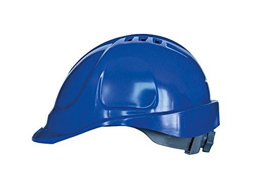 Casque de sécurité avec bandeau éponge, tailles de tête réglable, EN397, Bleu