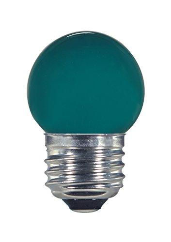 Satco S9163 LED S11 Keramik grün mittlere Base Glühbirne, 1,2W