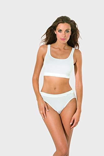 Bio-cotton Unterhemd (Speidel Jazzpant Bio Cotton Sport Edition, 5er-Pack 1600, schwarz, 48)