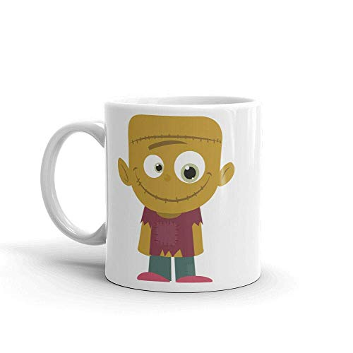 Frankenstein Zombie Boy Fun Kids Gift High Quality 11oz Coffee Tea Mug