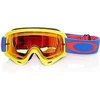 38acaa7aa3 Oakley Gafas Mx Frame Amarillo-Azul-Fire Iridium (Default, Azul)