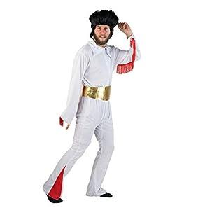 Bodysocks® Disfraz de El Rey de Las Vegas Rockstar para Adulto