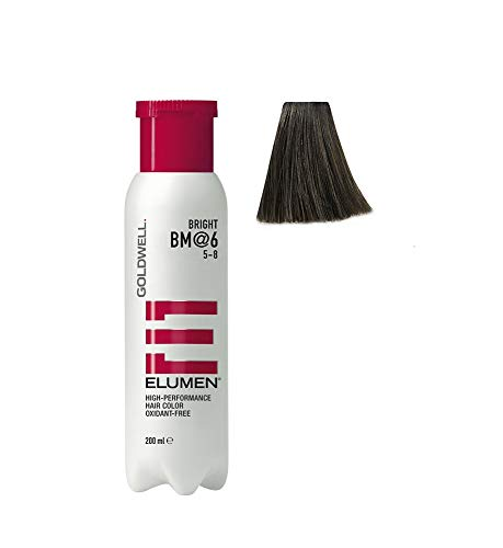 Goldwell Elumen Bright Haarfarbe 6 BM, 1er Pack, (1x 200 ml)