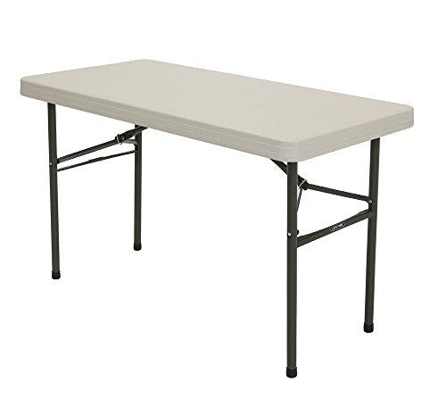 Lifetime Kunststoff Klapptisch, Falttisch & Campingtisch 10er Set // 122x61x74 cm // Flohmarkttisch, Esstisch & Stehtisch