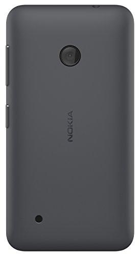 Hard Shell Schutzhülle (Nokia Hard Shell Clip-On Schutzhülle Case Cover für Nokia Lumia 530 - Dunkelgrau)