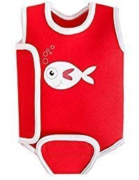 Swimbest Baby Badeanzug, Roter Fisch, 12-24 Monate (BWTWS7-24)