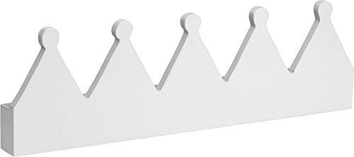 Preisvergleich Produktbild Scandic Toys Kleiderhaken Fairy 5-fach weiß Kinderzimmergarderobe