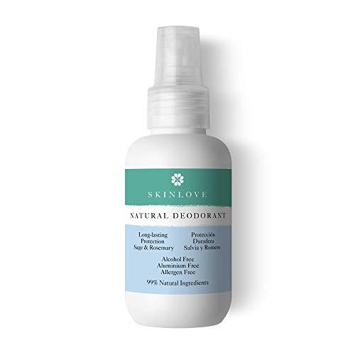 Desodorante Natural Salvia Romero sin alcohol, sin