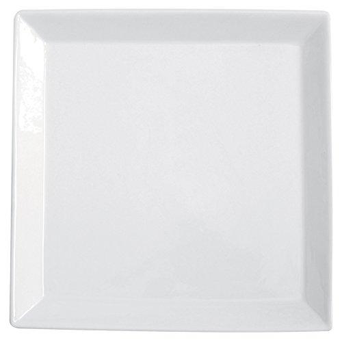Excelsa piatto da portata in porcellana quadro square, 36 x 36 cm, bianco
