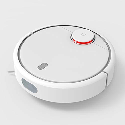 WHRZ Roborock S5 Aspirapolvere robot e aspirapolvere per mocio, 2000 Pa Super, collegamento Wi-Fi e aspirapolvere per robot di navigazione intelligente, capacità batteria 5200 mAh (bianco)