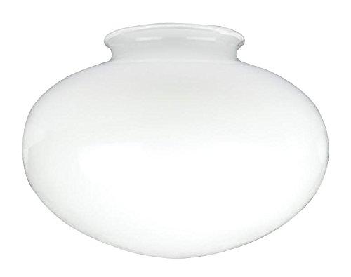 Westinghouse Lighting Westinghouse Lampenschirm 6,8 cm aus satiniertem Glas, Pilzform, weiß, 17.4 x 17.4 x 12.5 cm -