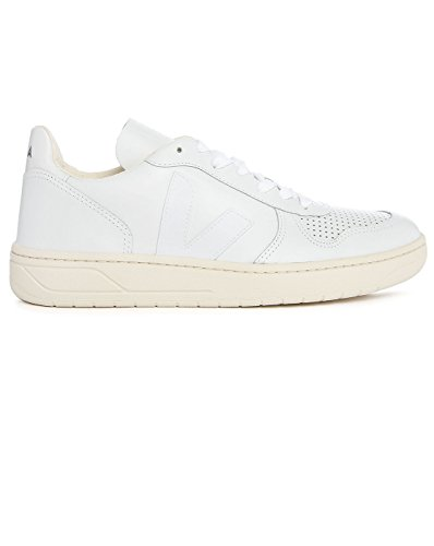 VEJA - - Uomo - Sneakers V10 Cuir Blanc pour homme -