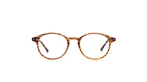 My Blue Protect Brille Schutz gegen blaues Licht, gegen Müdigkeit, mit UV-Filter(W001), Holz