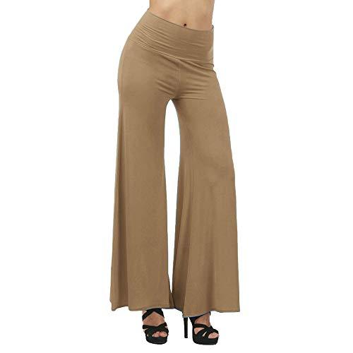 ZIYOU Hohe Taille Damen Elegant Damen, Oversized Leggings -